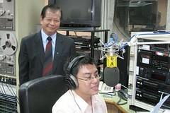 2006-04-25 在警察廣播電台新竹台接受專門訪問