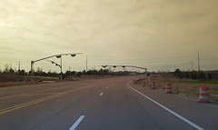 Approaching the soon to be operational north side interchange ramps