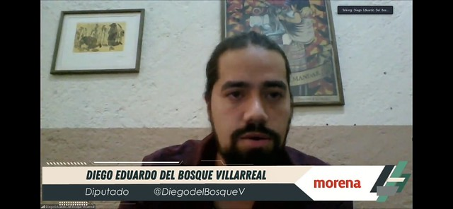 18/03/2021 Tribuna Diputado Diego Del Bosque