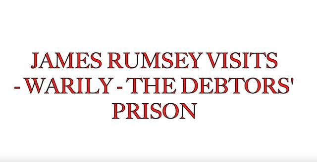 Photo:123a. Rumse 2 warily visits debtors prison By Jim Surkamp