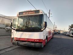 Ex San Diego Metropolitan Transit System 2007 Blue Bird Express 4500 #8502