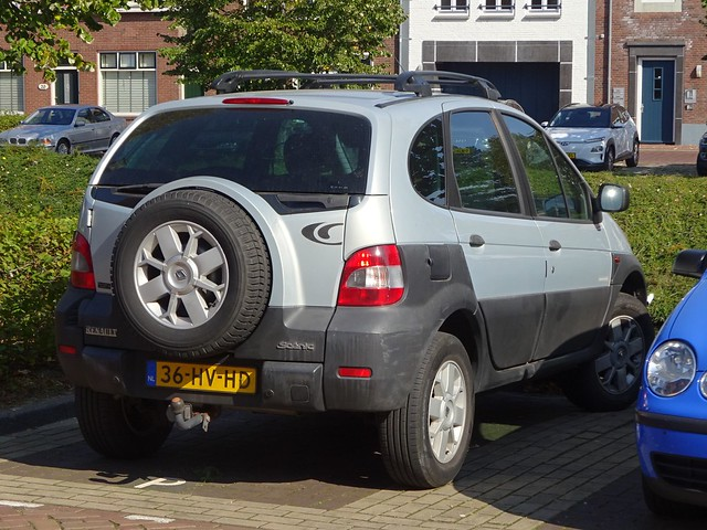 Photo:2002 Renault Scénic RX4