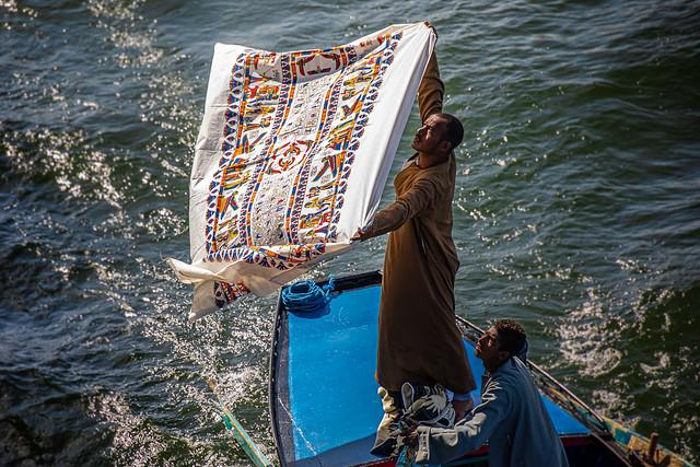 Vendeurs du Nil