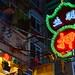 Neon lights of Hong Kong