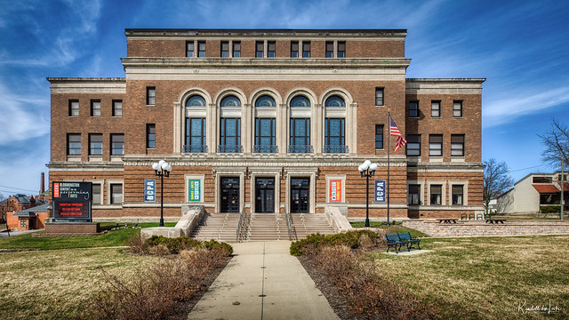 Photo:Bloomington Center For The Performing Arts, Bloomington, Illinois By myoldpostcards