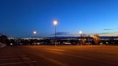 took a walk at nightish