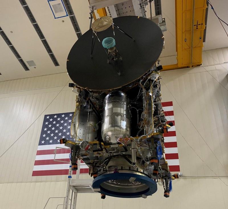 «Lucy» en las instalaciones de Lockheed Martin