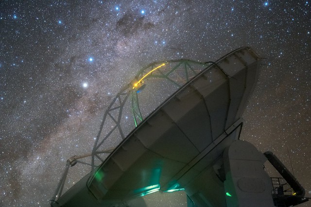 Photo:Coalsack, Emu, Tinamou? By European Southern Observatory