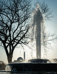 Fountain, Obelisk, Dome