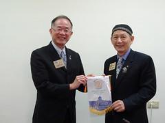 第1016次例會竹第一分區助理總監AG Musical訪問2015.09.02
