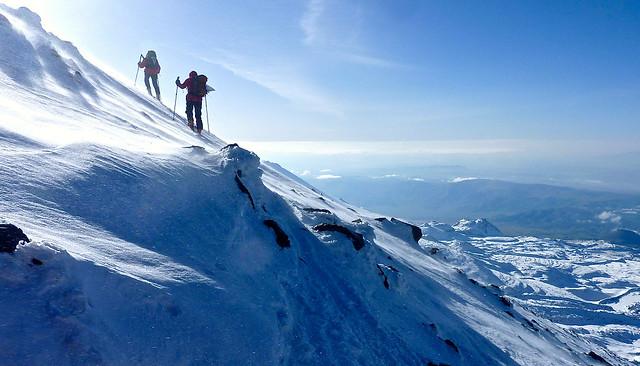 Aufstieg zum Gipfel des Ararat, 5165 m.