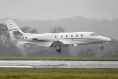 Bristol Airport (in the rain). 02-10-2020