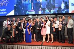 2016年7月10日新竹西北扶輪社與桃園西北扶輪社締結金蘭簽約儀式