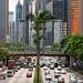 Hong Kong road symmetry