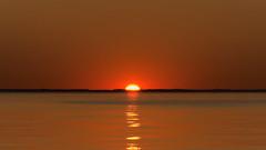 Sun rise above the Chesapeake Bay 2021-03-14