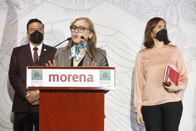 24/03/2021 Conferencia Diputada Marivel Solís, Industria Química