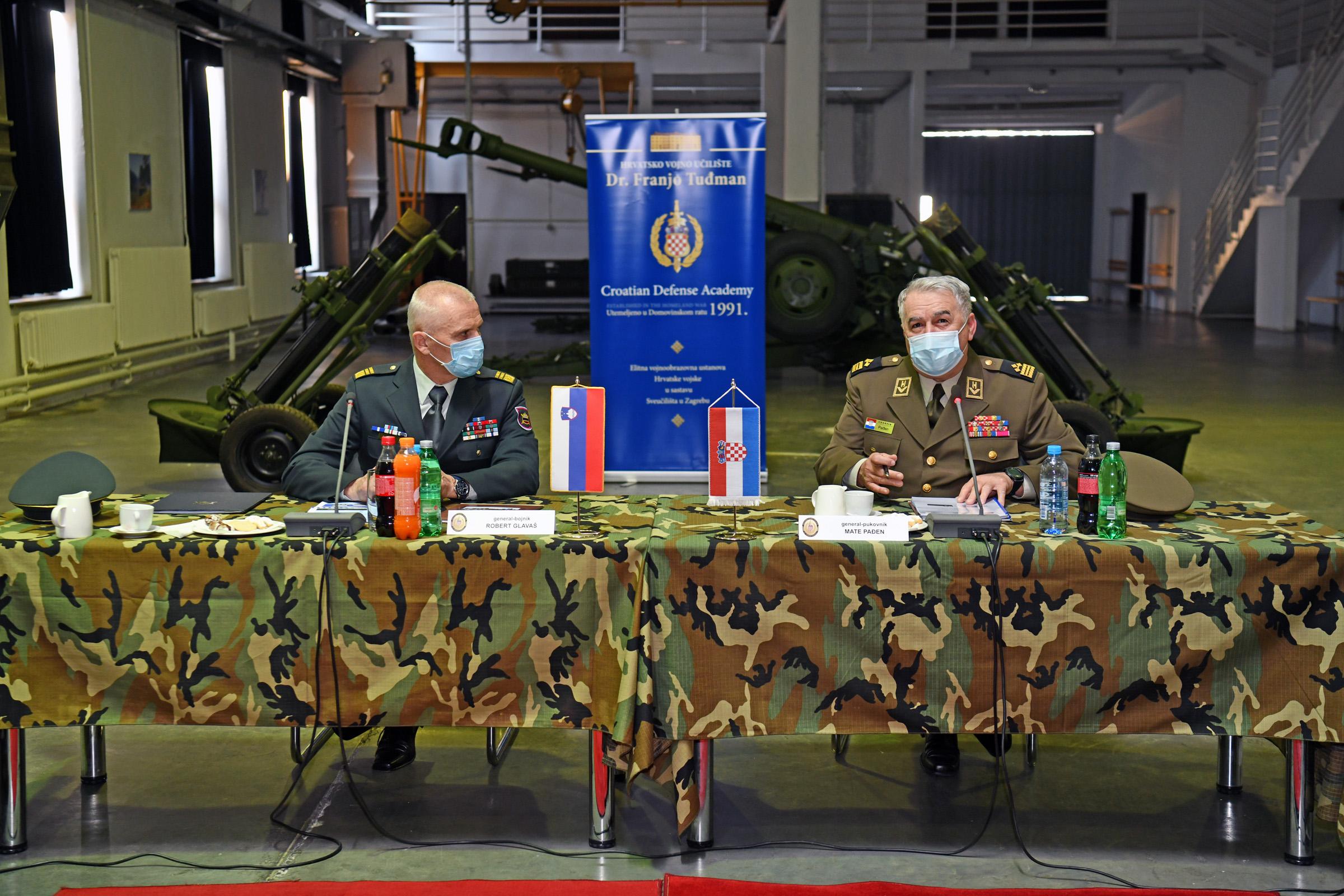 Načelnik Glavnog stožera Slovenske vojske posjetio HVU
