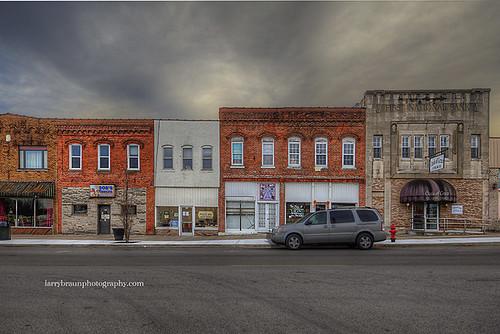 Street Facades Anna Illinois