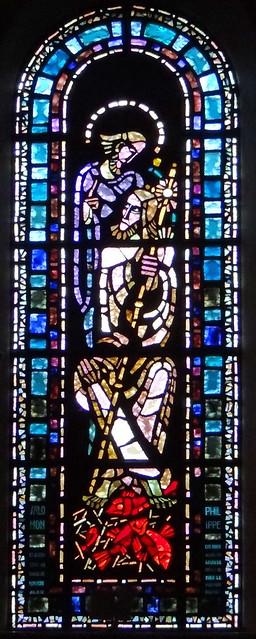 Photo:Saint Philippe et Salomon, vitrail de Gabriel Loire, 1952 - 1956 By pierrepaul43