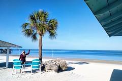Our Private #GulfHarbors Beach