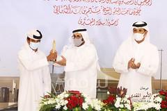 تتويج الفائزين بالمراكز الأولى في شوط الاتحاد العربي (الهجن التراثي) بمهرجان سمو الأمير المفدى 28-3-2021