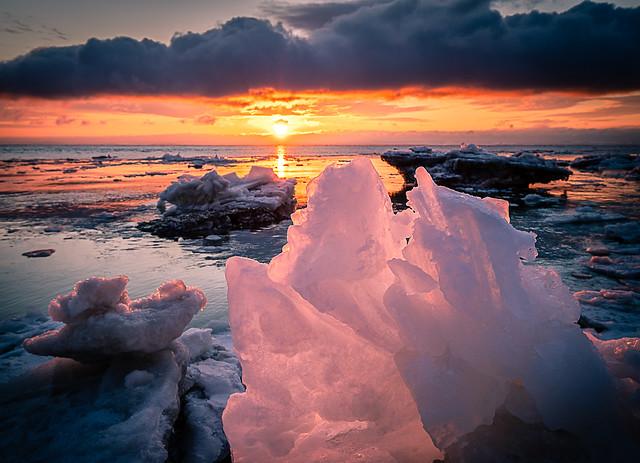 Matin de glace