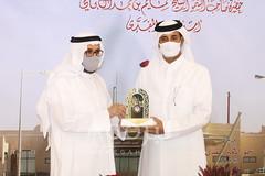 تكريم روؤساء الإتحادات العربية للهجن (بمهرجان سمو الأمير المفدى) 28-3-2021