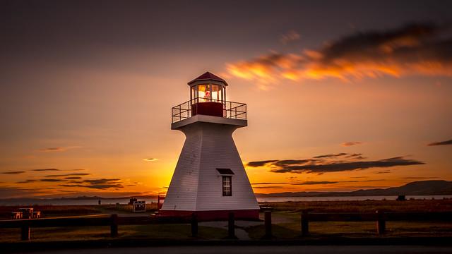 Lighthouse à Carleton-sur-Mer