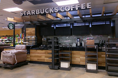 Starbucks, prior to opening