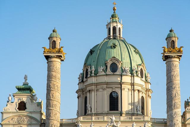 Photo:Best of Vienna: St. Charles Church (Karlskirche) By WolfgangPichler