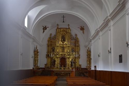 Interior de la ermita de la Soledad (Canales de la Sierra)