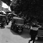 Edfu Street (Pentax 645Nii / MF Tri-X)