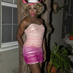 Honey Pink Cowgirl Outfit -401