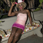 Honey Pink Cowgirl Outfit -381