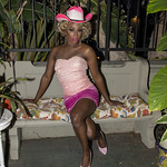 Honey Pink Cowgirl Outfit -351