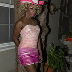 Honey Pink Cowgirl Outfit -407