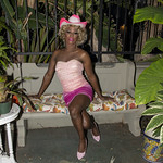Honey Pink Cowgirl Outfit -353