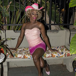 Honey Pink Cowgirl Outfit -347