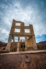 Rhyolite Ghost Town Desert Storms Thunderclouds Death Valley National Park Elliot McGucken Fine Art Landscape Nature Photography !  DVNP California Landscape Photography!