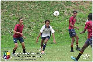 WBHS Soccer: U15A vs Paul Roos U17A