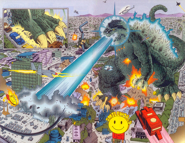 Photo:Godzilla King of the Monsters #9 (1996) By gameraboy