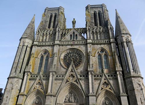 Où et quoi ? Eglise Notre-Dame-des-Champs à Avranches (Manche)