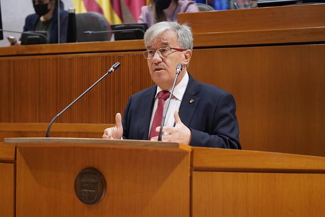 Presentación al pleno de las Cortes del Informe Anual de 2020