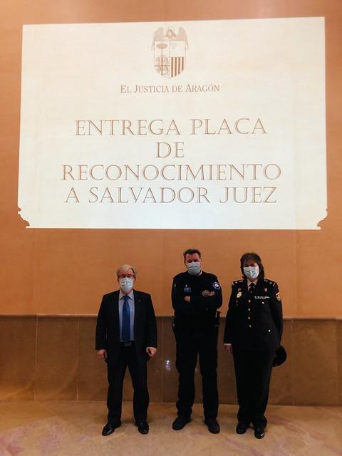 Reconocimiento a Salvador Juez