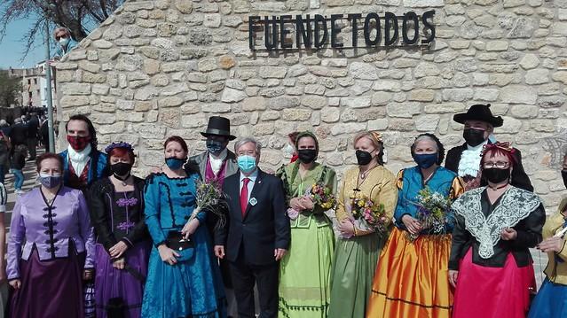 Conmemoración del 275 aniversario del nacimiento de Goya
