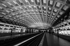 Empty Metro Center