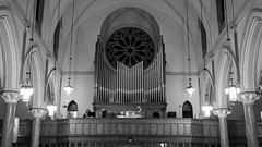 Organ and Rose Window
