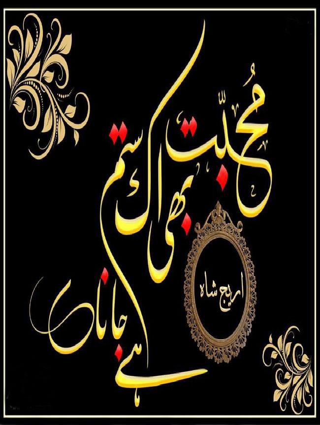 Mohabbat Bhi Ek Sitam he jana is a Love story, Social, Romantic and also a Very interesting novel written by Areej Shah.