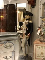 Life-size Napoleon statue, Jean-Pierre Antiques, P Street NW, Georgetown, Washington, D.C.