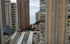Fabulosas vistas al mar, muy soleado y exterior. En su inmobiliaria Asegil en Benidorm le ayudaremos sin compromiso. www.inmobiliariabenidorm.com